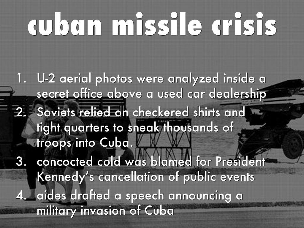 cuban missile crisis analysis