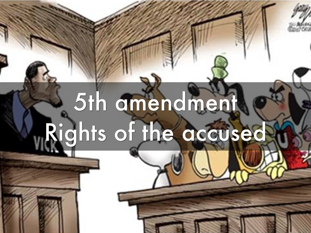 rights of an accused Presumption of innocence in canada, a person accused of a crime is presumed innocent until the judge or jury finds him guilty this is.