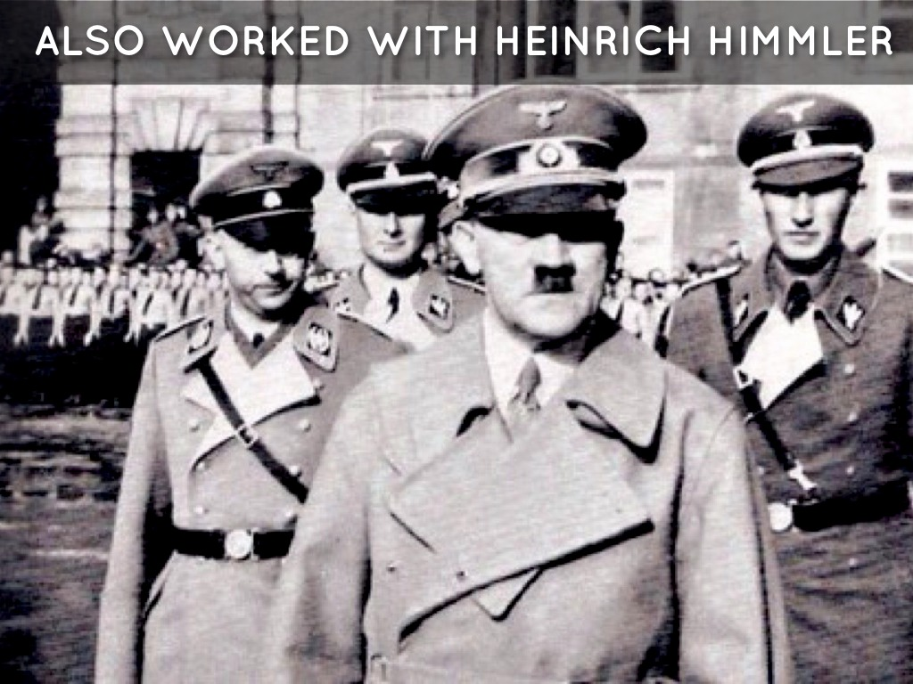 an introduction to the life of heinrich himmler October 7, 1900: heinrich himmler is born in munich, germany july,1919: himmler graduates from high school in landshut august 1922: himmler graduates from the technical institute in munich with a degree in agriculture.