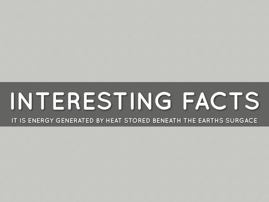 interesting facts about geothermal energy - Primus Green Energy