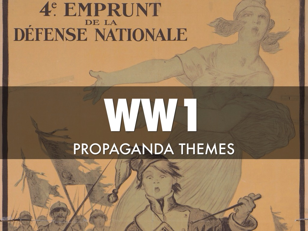 essay on propaganda in ww1 It was during world war 1 that modern propaganda techniques really began to be used propaganda came from all countries and for many different causes, even though the way those countries used propaganda differed, they all got their messages across the way and the type of propaganda used varied .
