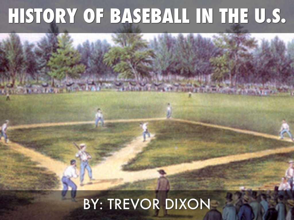 an introduction to the history of baseball in the united states History of medical errors in the united states healthcare system and comparisons to veterinary medicine the history of medical errors is a rather short one as there was very little knowledge of medical errors until 1999.