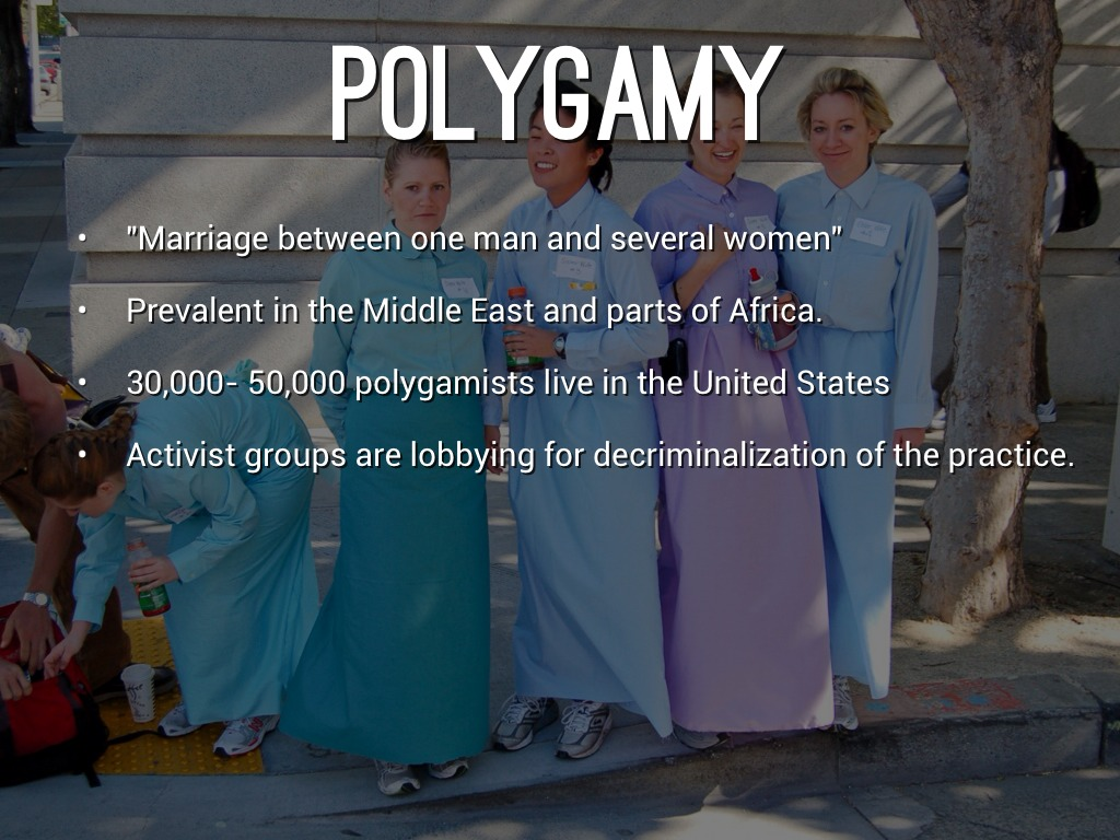 the effect of polygamy Putting aside the physical and emotional harms to girls from the resulting early  childbearing, the more major effects of polygamy on society are.