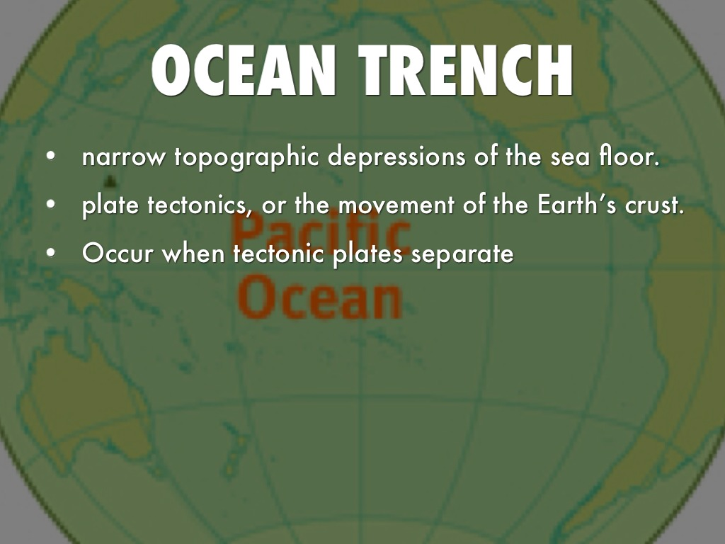 Real Ocean Trenches | www.galleryhip.com - The Hippest Pics Real Ocean Trenches