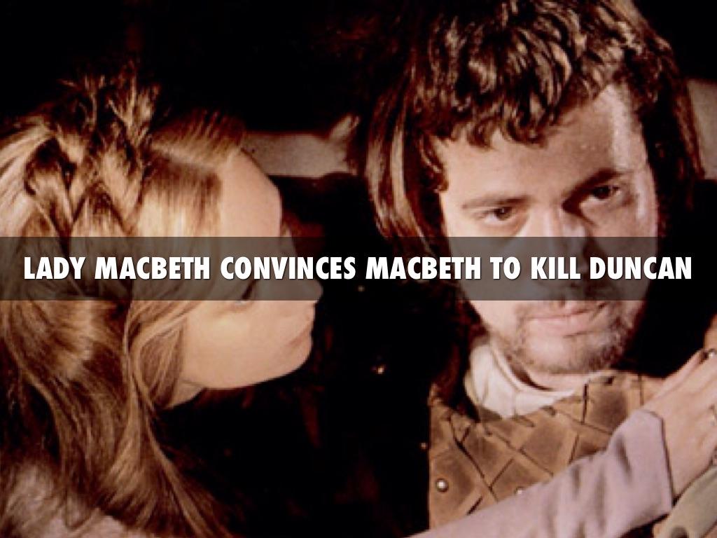 did lady macbeth kill duncan