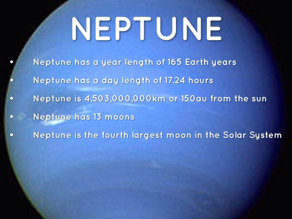 neptune fact Neptune's magnetic field is 27 times more powerful than that of the earth learn  more neptune facts that cover its moons, atmosphere, orbit,.