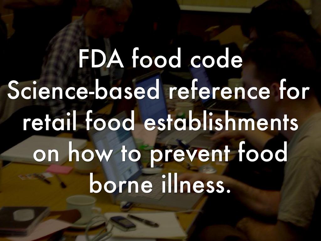 Summary -> Fda Food Code - #gepezz