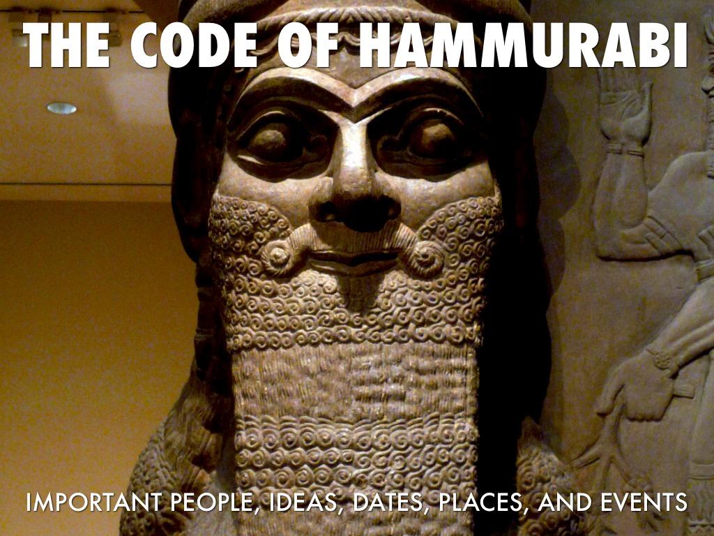 Code of hammurabi date in Perth