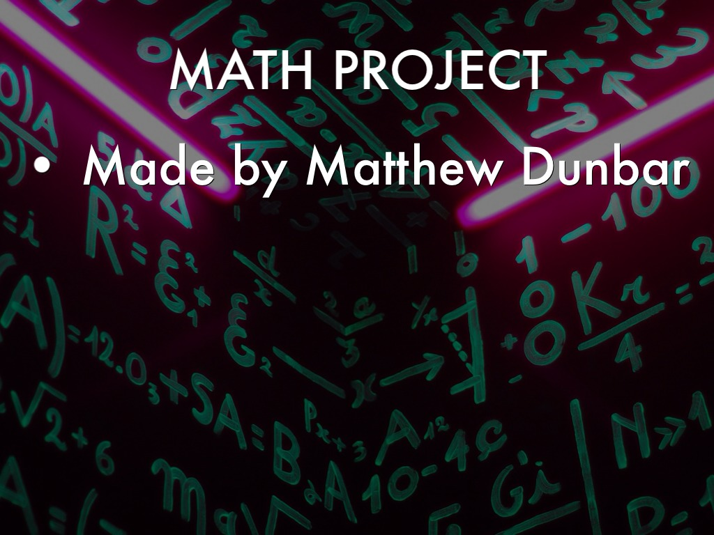 math project A detailed list of 160 math projects, for all grade levels, to use in your class or tailor to fit your grade level.