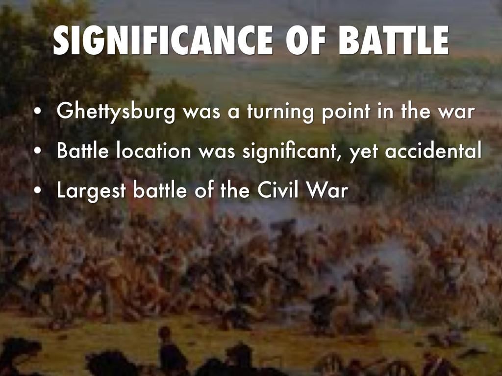 battle of gettysburg the key turning point of civil war Gettysburg was not the only turning point of not the only turning point of the civil war point of the civil war gettysburg was an important battle.