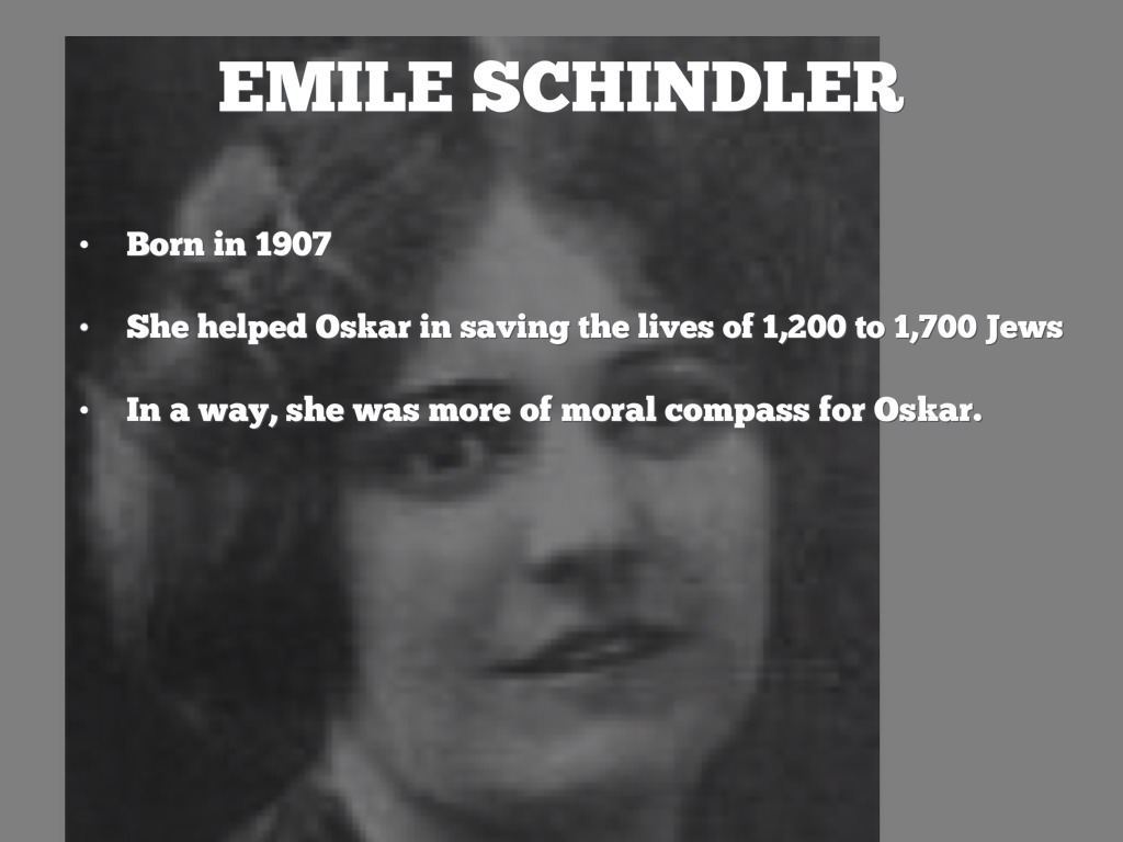 oskar schindler a hero study Epic hero elements in the life of oscar schindler oskar schindler was born on april 28, 1908 in zwitlau, which is now part of the present day czech republic, to his father and mother, hans and louisa schindler.