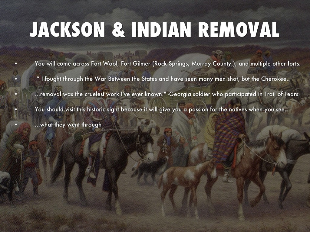 dbq on jackson and the indian removal When andrew jackson became president (1829–1837), he decided to build a systematic approach to indian removal on the basis of these legal precedents to achieve his purpose, jackson encouraged congress to adopt the removal act of 1830.
