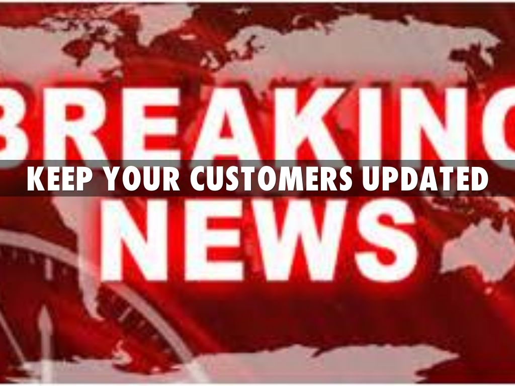 Image result for keep customers updated