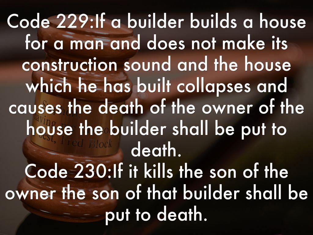 the code of hammurabi is an example of