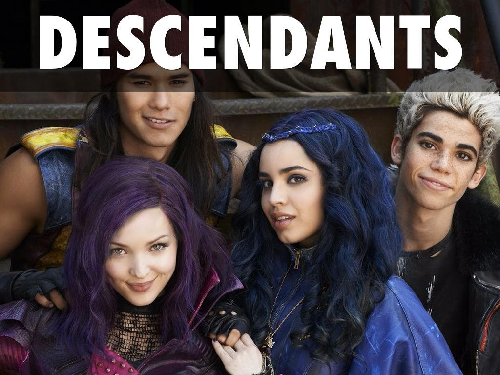 disney's descendants characters - 900×731