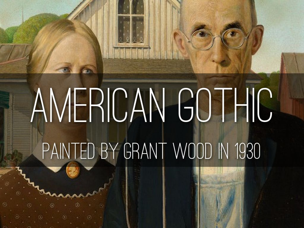 american gothic was painted by grant