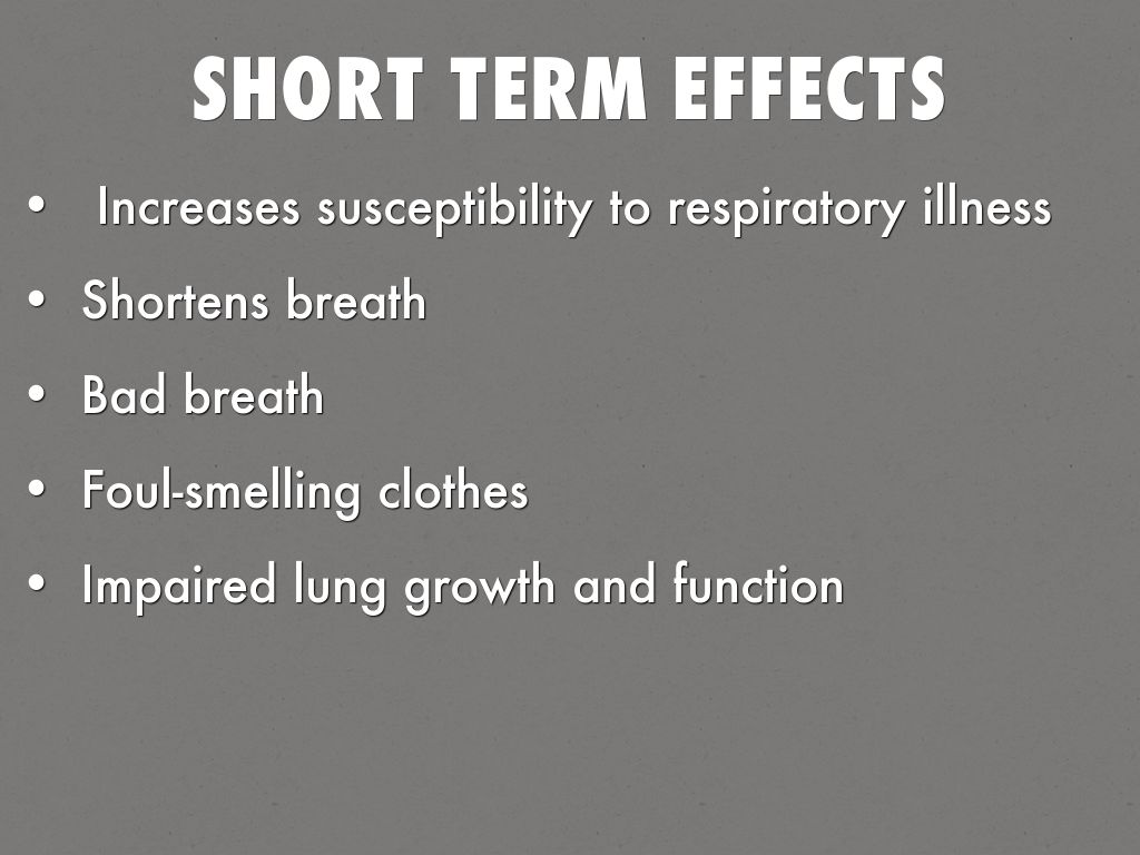 my perspective on the unhealthy effects of smokeless tobacco Side effects of quitting chewing tobacco - what's the side effects of using chewing tobacco bad breath, altered taste and.