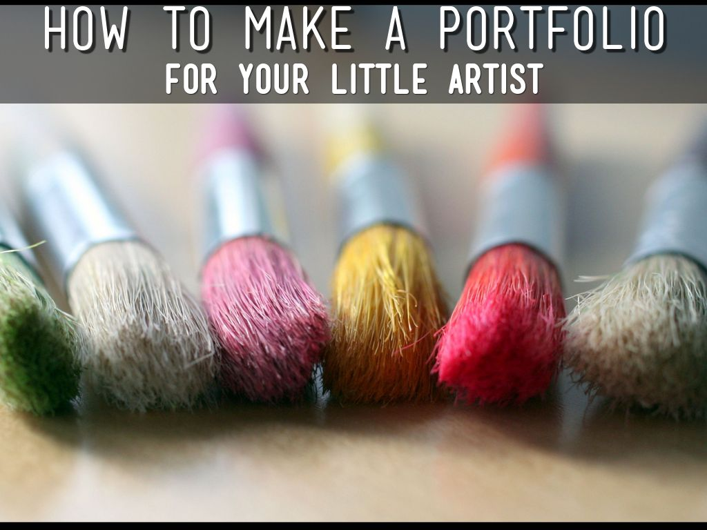 How to make a portfolio