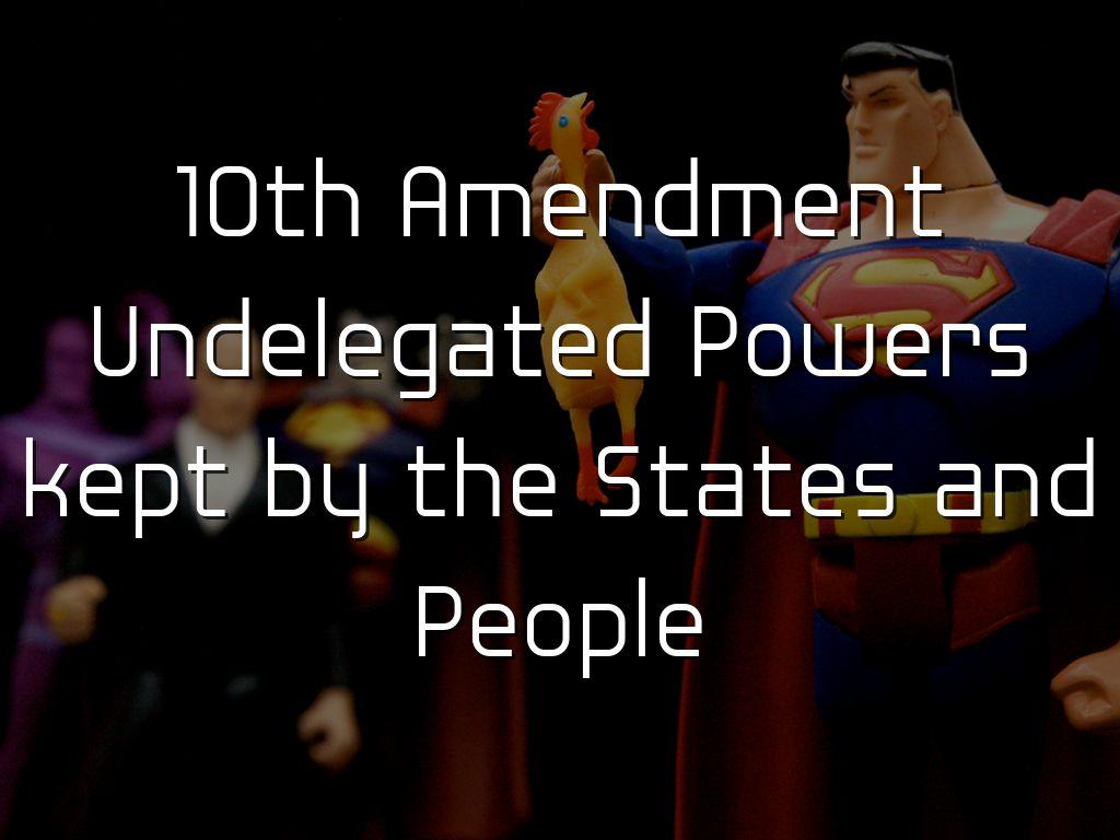 10 Amendments by Jay Outley