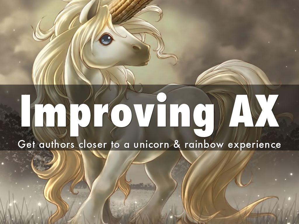 Improving AX