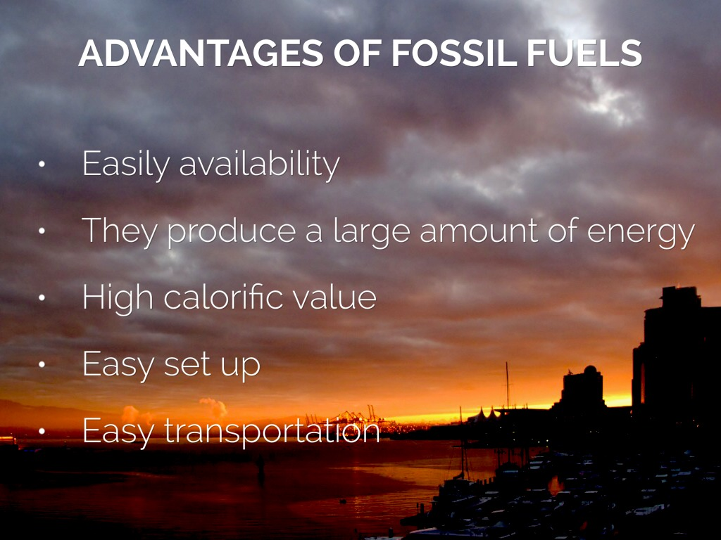 advantages and disadvantages of fuels Below you will find the most important fossil fuels pros and cons advantages of fossil fuels 1 well developed  disadvantages of fossil fuels 1 contribute to .