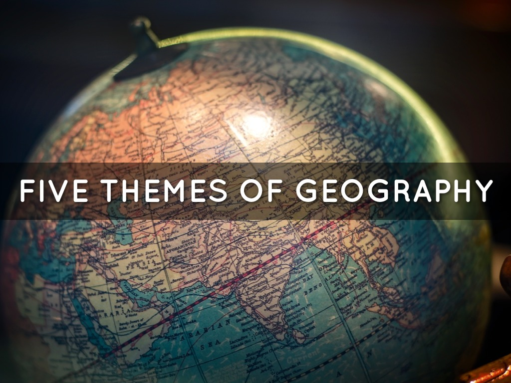 5 themes of geography This is an assessment over the 5 themes of geography.