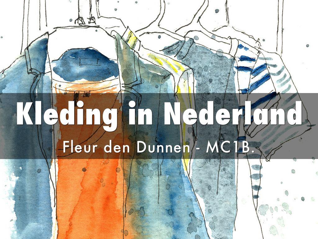 Kleding in Nederland