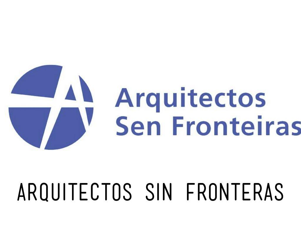 ARQUITECTOS SIN FRONTERAS