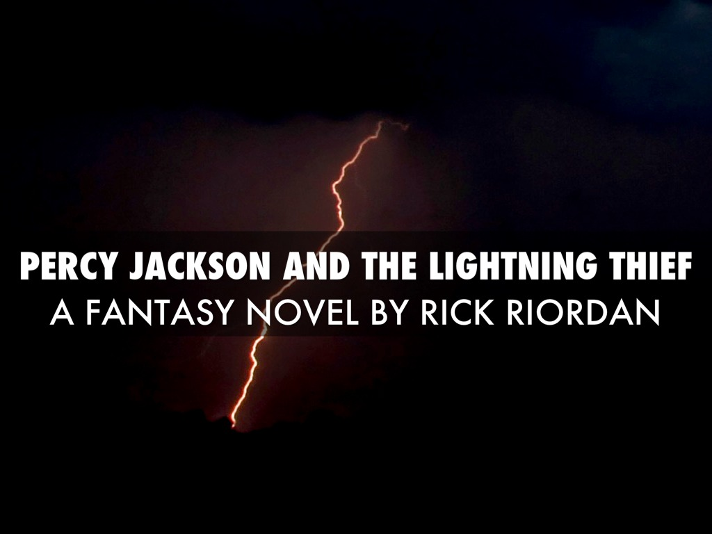 percy jackson the lightning thief pdf