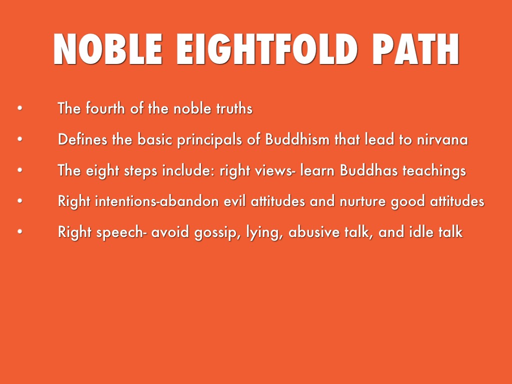 the four noble truths paper The most common and widely known formulation of the buddha's teaching is that which the buddha himself announced in the first sermon at benares, the formula of the four noble truths.