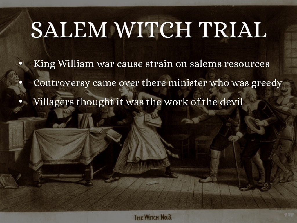 salem witchcraft trials vs the crucible essay