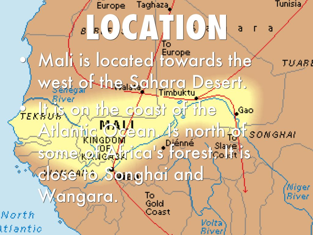Empires Of West Africa By Zachary Michalski - Where is mali located