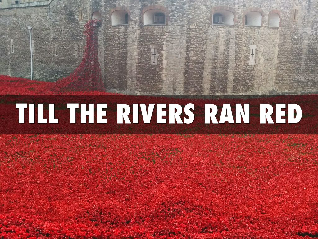 the river runs red analysis