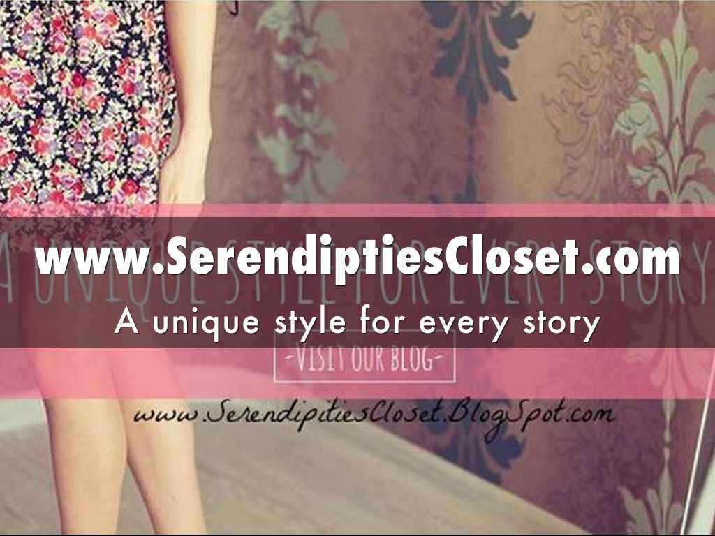 www.SerendiptiesCloset.com