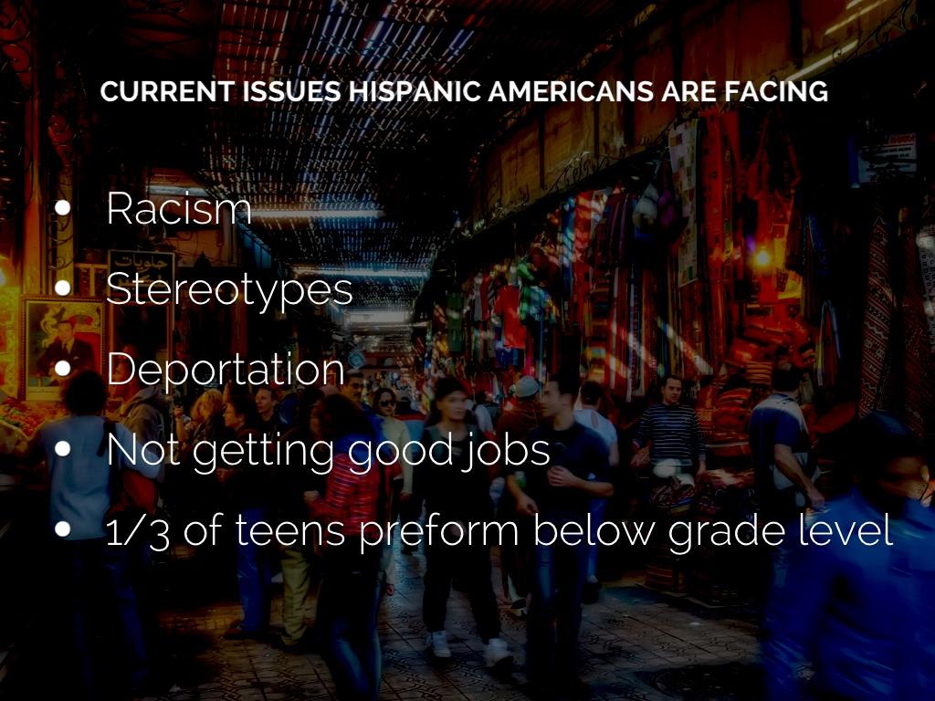 racial discrimination hispanics in america