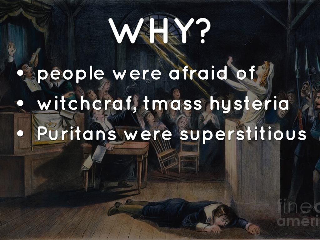salem witch trials hysteria