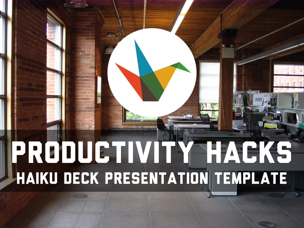 Productivity Hacks By Reusable Template