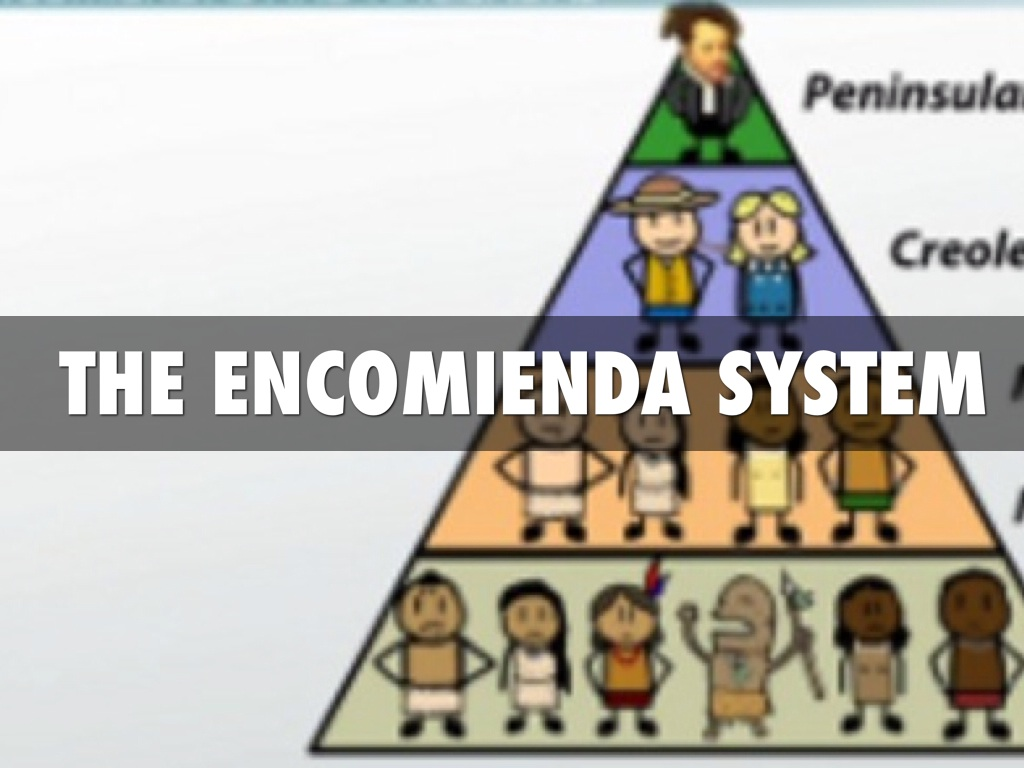 encomienda system «encomienda» the encomienda was a legal system that was used by the spanish crown during the spanish colonization of the americas to regulate native americans.