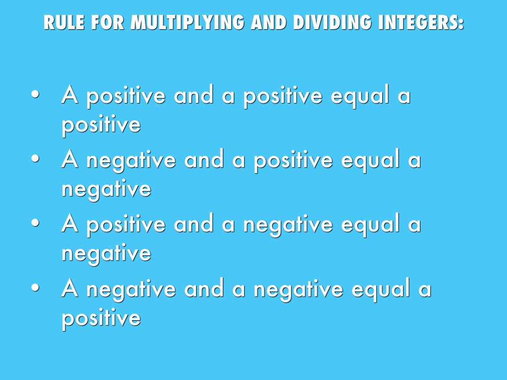 Workbooks » Multiplication And Division Of Integers Worksheets ...