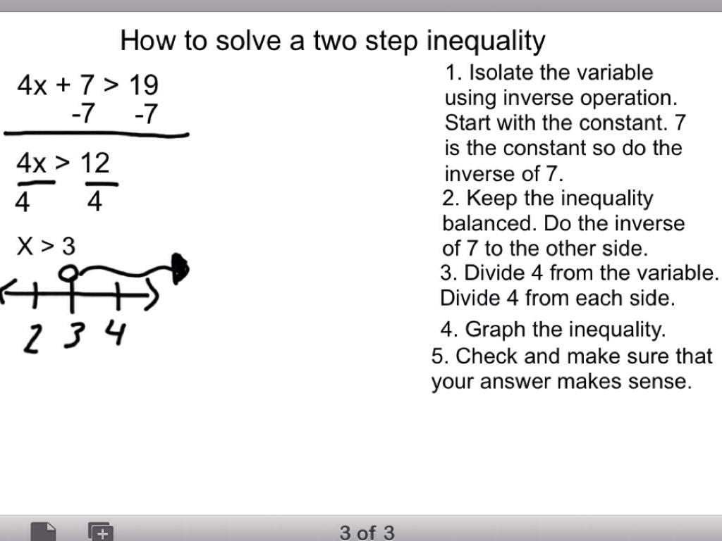 solving two step equations notes tessshebaylo. Black Bedroom Furniture Sets. Home Design Ideas