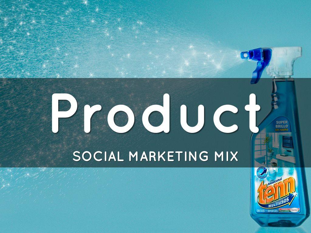 social marketing mix