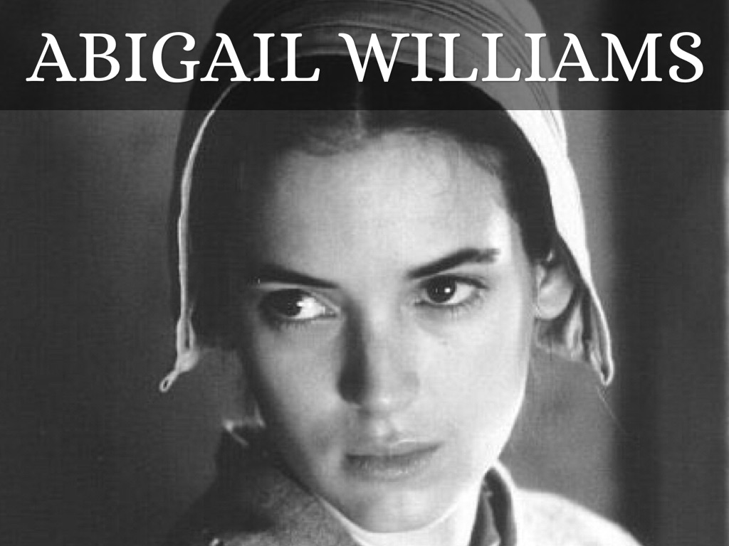 abigail william's manipulation Character analysis: abigail williams in the play the crucible, written by arthur miller, abigail williams is a very manipulative, jealous, and selfish person she is constantly caught up in a lie or is in the presence of trying to manipulate a person or a group of people.