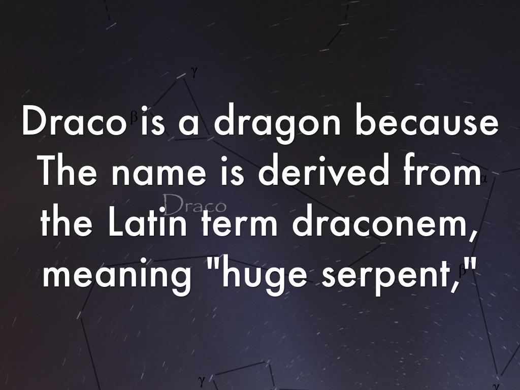 Draco by John Doe