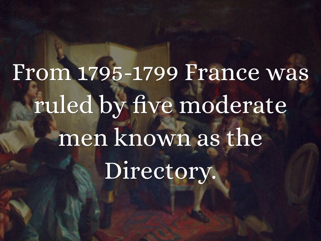 pictures of the directory french revolution