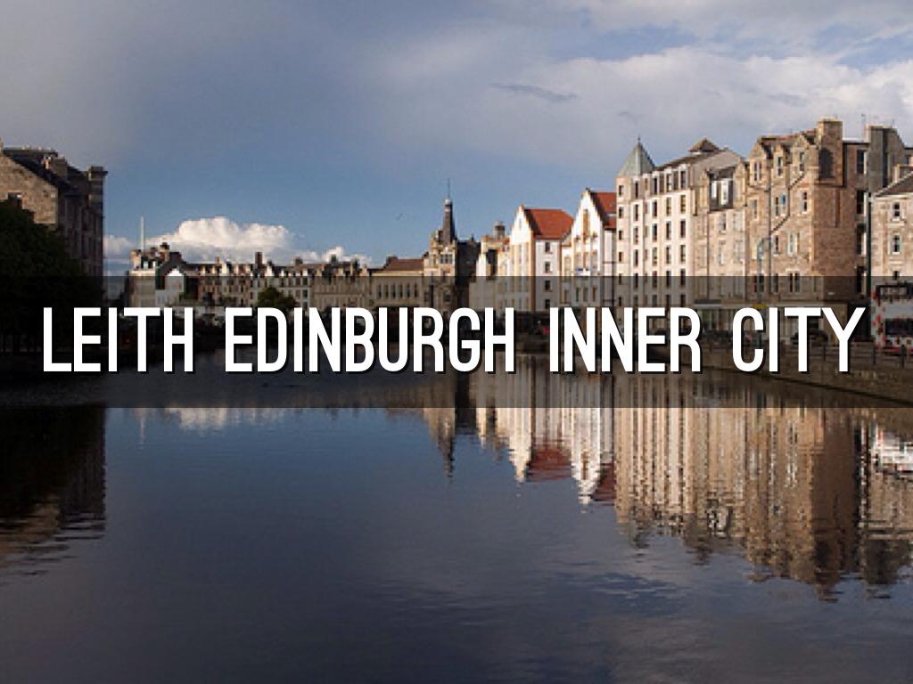 leith edinburgh inner city by nora almou