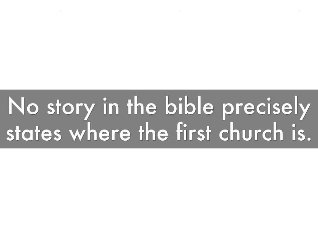 history of the church by cha ching