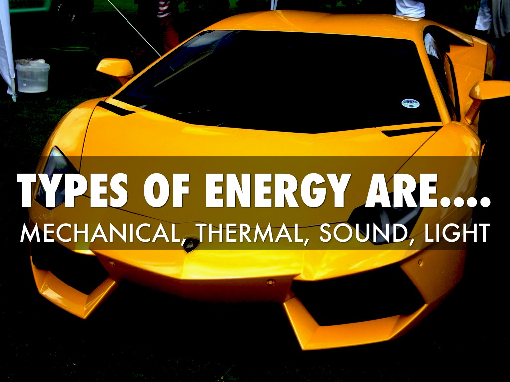 Types of Energy by Andrew V