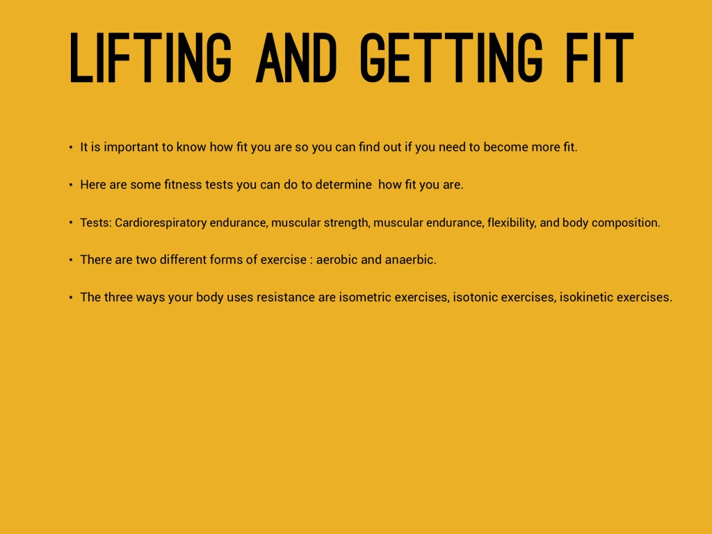Physical Activity And Fitness By Nathan by Nathan