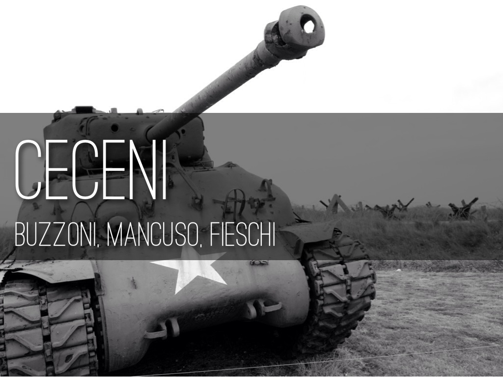 Ceceni Mancuso, Fieschi, Buzzoni