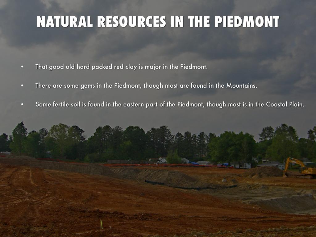 North Carolina Mountain Region Natural Resources
